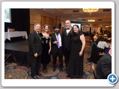 Amy and Jeff Feinberg were honored by the Peabody Chabad on October 27, 2016