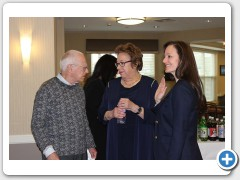 Torf Family honored at dedication of Community Living Room at Waldfogel Health Center